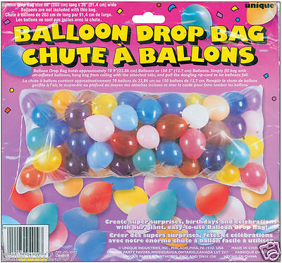 EVE BALLOON DROP BAG KIT RELEASE PARTY BIRTHDAY CELEBRATION (Ballon Drop Kit)
