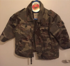 6-12month Jacket Army Coat