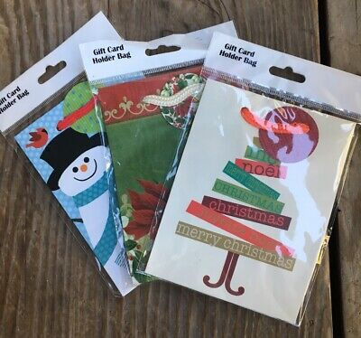 Mini Paper Bags (Lot Of 3 Mini Small Present Packaging Bags Christmas Paper DIY Craft Gift)