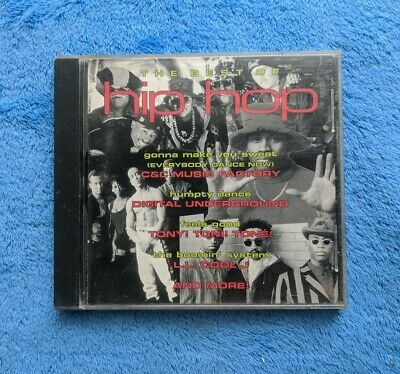 THE BEST OF HIP HOP CD Compilation 1992 Digital Underground Too Short LL Cool (Best Of Ll Cool J)