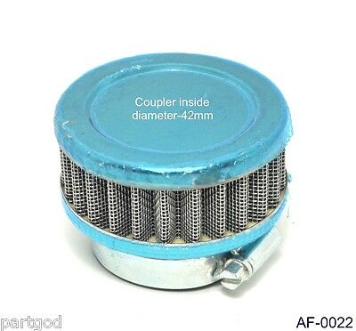 42mm Air Filter for GY6 150cc-250cc Go Kart Pocket Dirt Bike Motorcycle ATV AE1