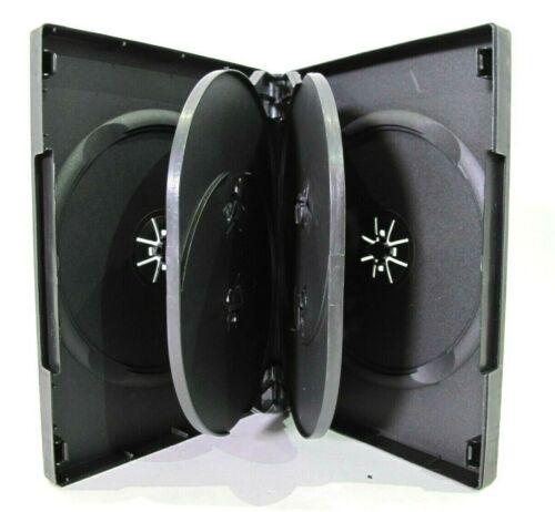DVD/CD Case (6 Disc) Multi Six Disc Empty Box 27mm Commercial Grade