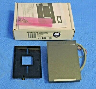 Hid Iclass R-640x-300 Wall Switch Smart Card Reader With Mounting Plate Cover