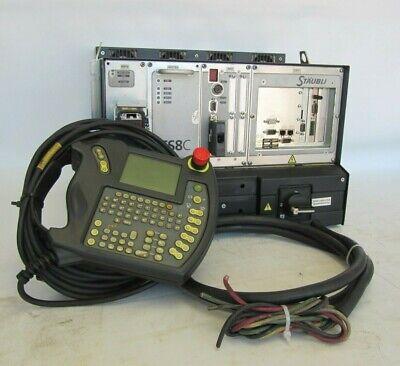 Staubli Cs8c Rs60 Robot Controller Pendent F0654r2d1c01 Sp1d 21139902