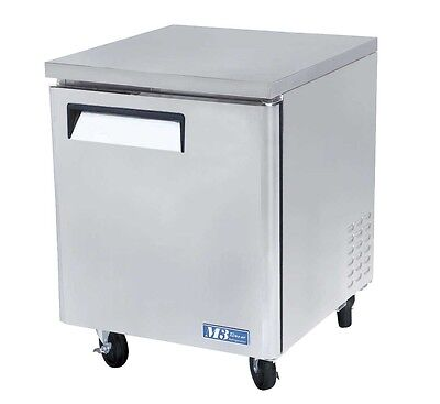Turbo Air 28 Undercounter Stainless 6.5 Cu.ft Freezer Muf-28