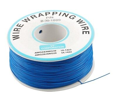 1pcs 0.25mm Wire-wrapping Wire 30awg Cable 250m Blue
