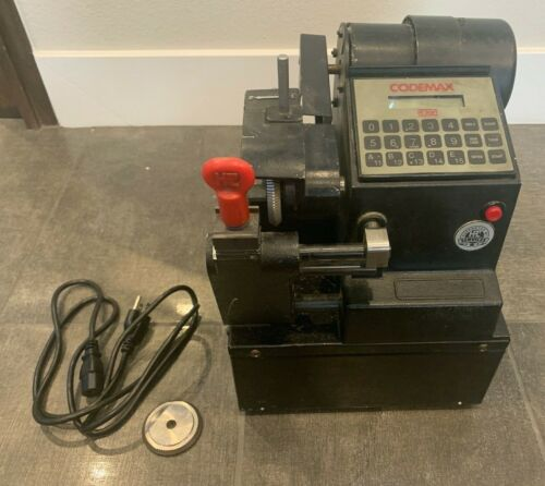 HPC CODEMAX ELECTRONIC KEY CUTTER MACHINE WITH 2 CUTTERS FREE SHIPPING