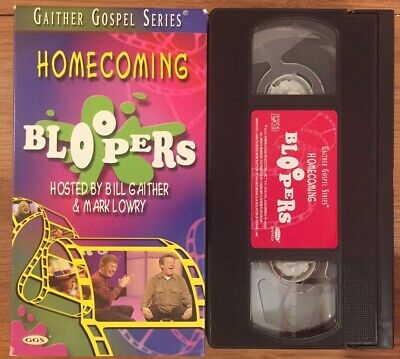Gaither Gospel Series BLOOPERS VHS video 2002 for sale  Clayton