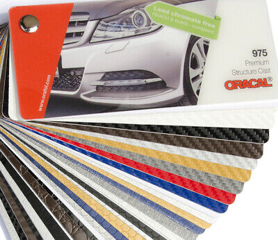 Farbfächer Orafol Cr Wrapping Serie 975 Struktur