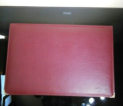 Brown Pu Leather Desk Pad Protector 18 X 12