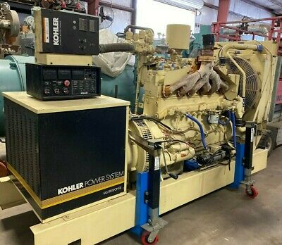 Kohler 115kw Generator 3 Phase W Battery Charger Pre-owned