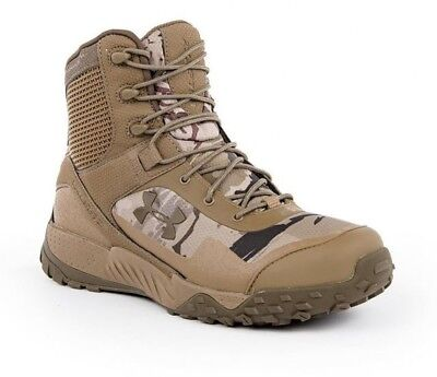 Under Armour Men's Valsetz RTS 1.5 Tactical Boots 3021034 900 Brown Camouflage