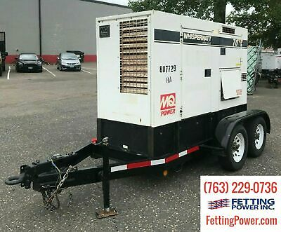 70kva Multiquip Mq Power Mobile Diesel Generator Dca-70usi2 Sn 8802056