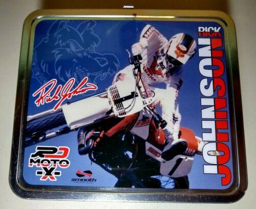 Rick Johnson Motocross Metal Lunchbox 2004 Smooth Industries Motocross Moto-X