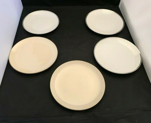 Set of 5 Vintage National Airlines plates By Jackson China