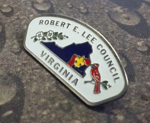 Robert E. Lee Council Virginia BSA pin badge Boy Scouts