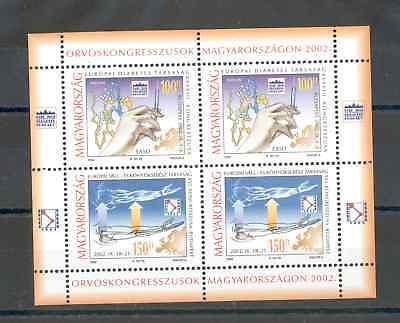 Hungary - Souvenir Sheet of Stamps Year 2002 MNH**