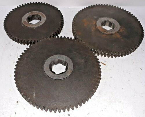 "SPEED CHANGE GEARS, LOT OF 3 (5-1/4"" OD, 5-7/8"" OD, 6-1/8"" OD) 1/4"" PITCH"