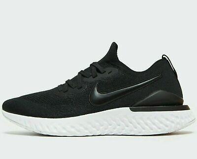 Nike Epic React Flyknit 2 Men's Running Shoes BQ8928-002 Black/W UK 11 EU 46