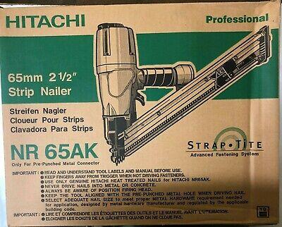 Hitachi Nr65ak Joist Hanger Nailer Teco Gun 1 12-2 12 New In Box Made In Japan