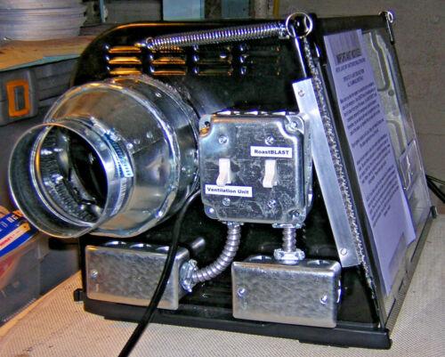"""CoffeeRoastersClub"" 5 Lb Indoor Electric Home Coffee Roaster 110VAC Warranty"