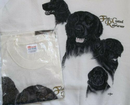 Flat-Coated Retriever Sweatshirt & T-shirt Set SM ( 34 ~ 36 )