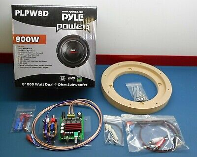"Twilight Zone WPC Pinball - Powered Subwoofer by PinWoofer - 8"" Kit"