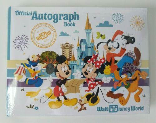Sealed WDW Walt Disney World Disney Parks Official Autograph Book Minnie Mickey