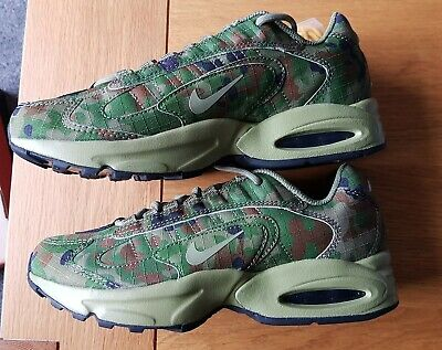 NIKE AIR MAX TRIAX 96 SP - SAFARI / THERMAL GREEN -...