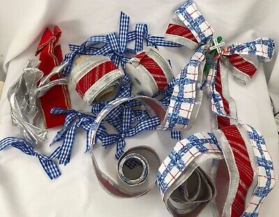 Holiday Ribbon used to decorate Thomas the Train Themed tree bows - Thomas The Train Theme