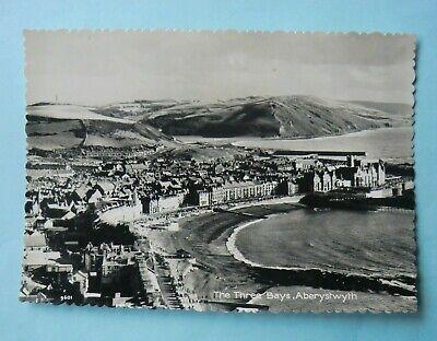 The Three Bays, Aberystwyth Wales 1950's Postcard