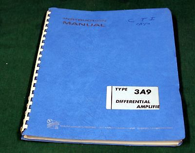 3a9 Differential Amplifier  Instruction Manual