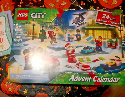 Lego City 2020 Advent Calendar (60268) - NEW IN BOX FREE SHIPPING