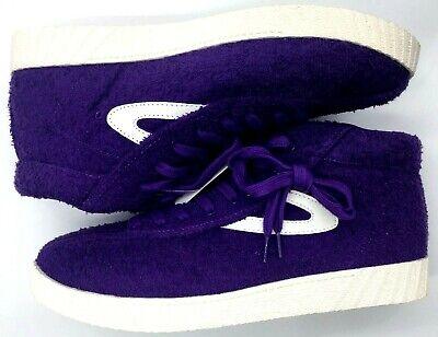 Tretorn Herren Schuhe Sneakers (Tretorn Nylite Terry Sneakers Mens US 11 Purple Andre 3000 High Top New No Box)