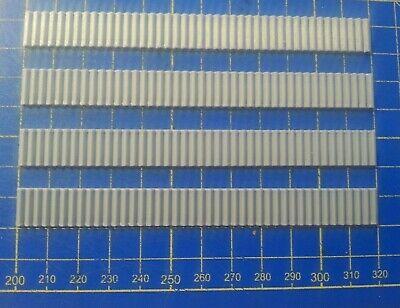 4 X ESCALIER - STAIRS - TRAP - HO - 12CM X 12MM - STEP 2MM - 3D PRINTING PLA
