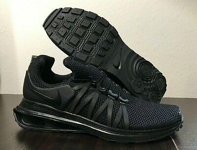 brand new 97dcd 4718c Nike Shox Gravity Running Shoes Triple Black Men s Size 8 NEW