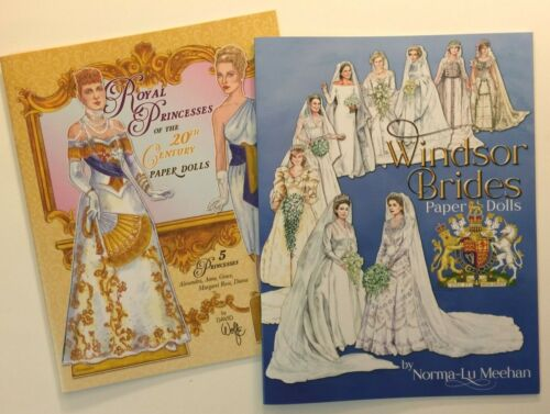 TWO ROYAL BOOKS - Windsor Brides & Royal Princesses of the 20th Century