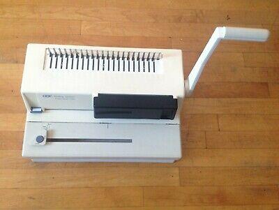 Gbc Image Maker 2000 Binding Machine Works Manual Comb Punch