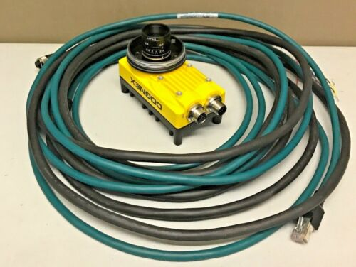 Cognex IS5605-11 w/ PATMAX + Cables In-Sight Vision System 5605-11 Warranty