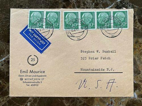 "ORIGINAL - GERMAN FREIKORPS "" EMIL MAURICE "" AUTOGRAPHED ADDRESS POSTAL COVER"