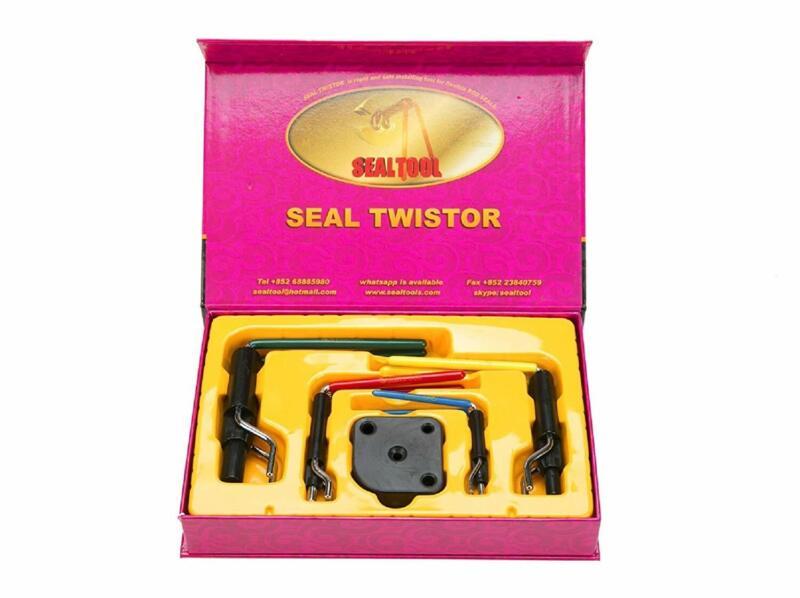 5 Hydraulic Cylinder Piston Rod Seal U-cup Installation Tool Kit US SHIP
