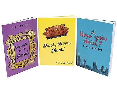 Set Of 3 Friends Notebooks TV Show Sitcom