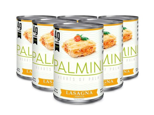 Palmini Hearts of Palm Lasagña Sheets (6-pack) Keto/Low Carb/pasta substitute