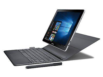 NEW SAMSUNG GALAXY BOOK SM-W620NZKAXAR 10.6'' FHD 2-IN-1 NOTEBOOK 128GB