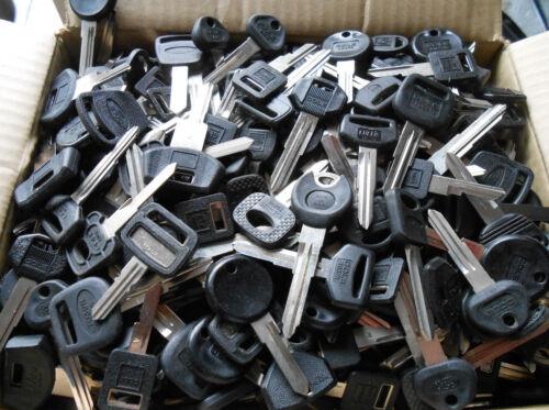 10 POUNDS Car key blanks FORD,GM,CRYSLER,TOYOTA,HONDA,MAZDA,etc...Locksmith