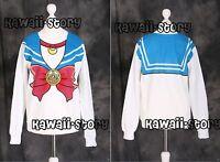 T-502 Azul Sailor Moon Usagi Bunny - Sudadera Jersey Japón Harajuku -  - ebay.es