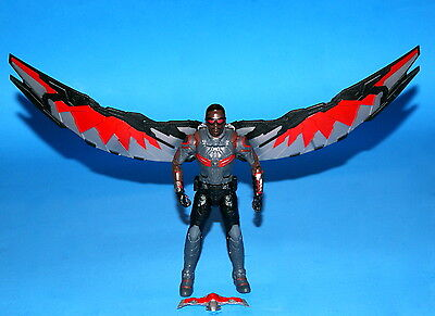 MARVEL LEGENDS FALCON CIVIL WAR 6 IN. WALMART EXCLUSIVE LOOSE COMPLETE