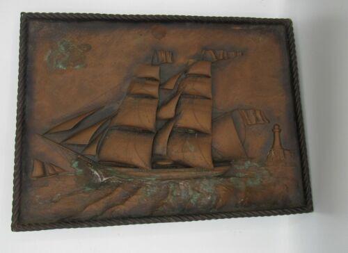 Frank Nelson Nautical Hambleton England Diorama Brooks Brothers Shadow Box