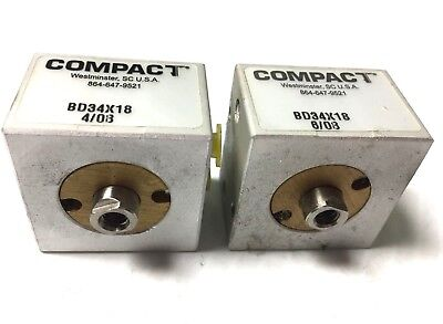 Compact Cylinder Model Bd34x18  Set Of 2 Pieces