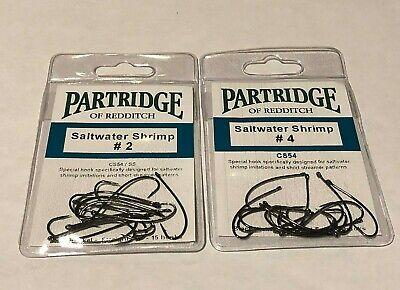 Partridge Hooks Qty 10 Size 14 NTS Patriot Nordic Tube Single // Egg Hook